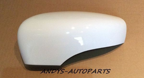 Renault Zoe 2012 Onward Wing Mirror Cover L H Or R H Blanc